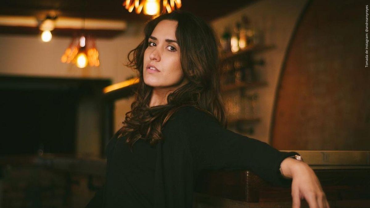 Andrea Rey, actriz de Enfermeras.