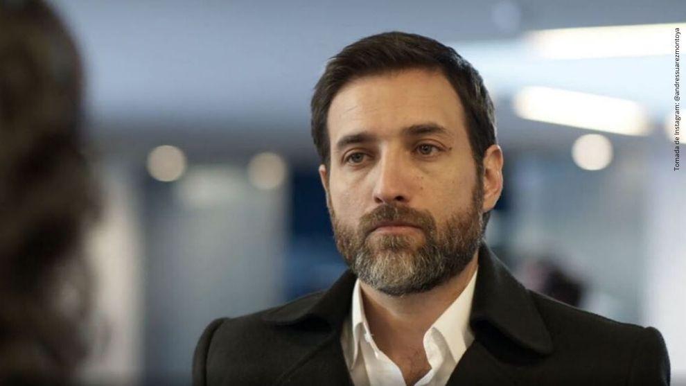 Andrés Suárez, actor de Enfermeras.