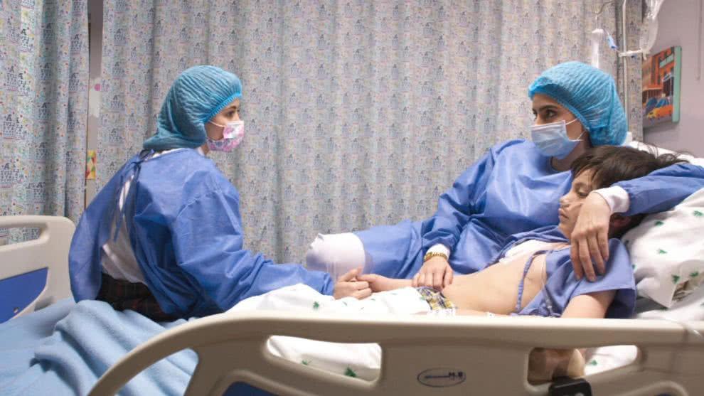 El hospital apoya a Camilo