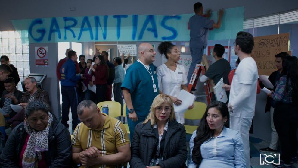 El hospital Santa Rosa entra en paro