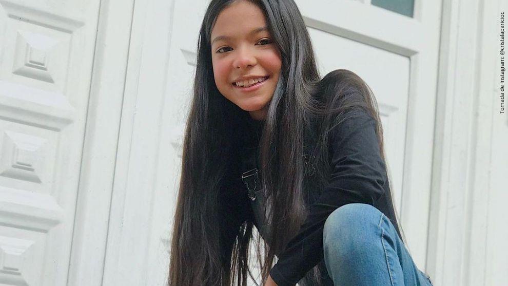 Cristal Aparicio, actriz de Enfermeras.
