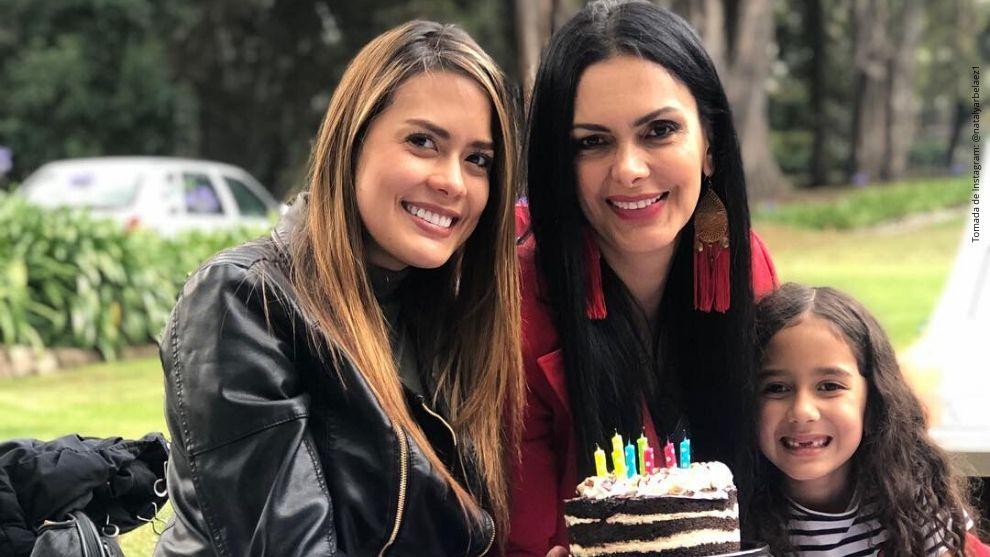 Nataly Arbeláez y su madre, Marcela Posada.