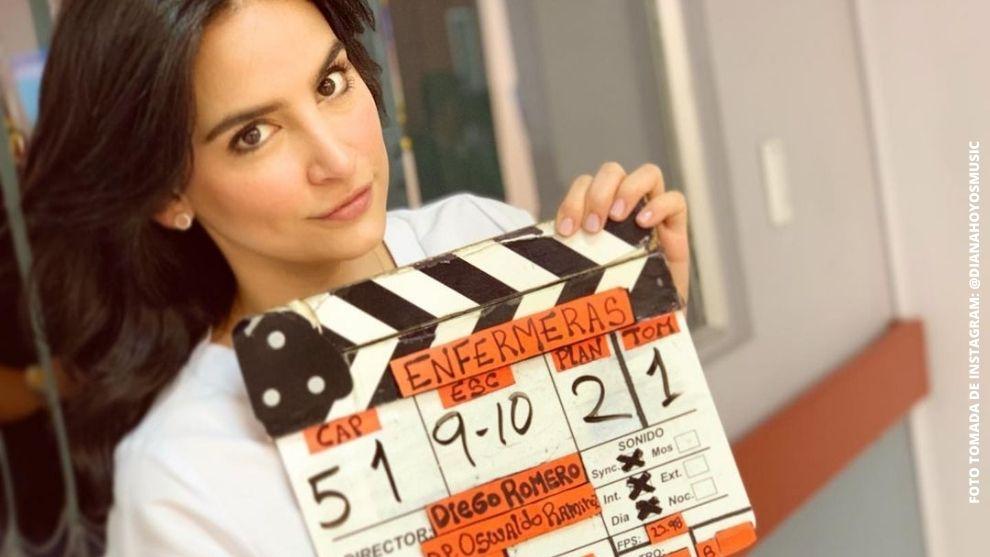 Todo está listo para el regreso de #Enfermeras este 12 de enero o sino, que lo diga Diana Hoyos. #VamosConToda (Tomada de Instagram)