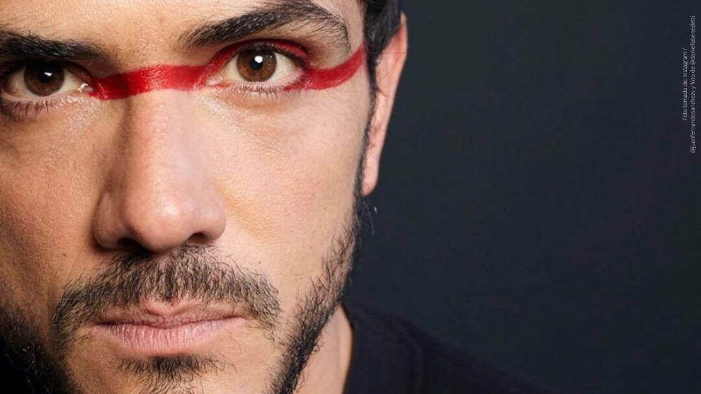 El actor Juan Fernando Sánchez.