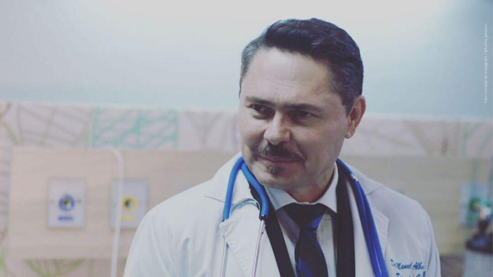 Lucho Velasco como Manuel Castro en Enfermeras.