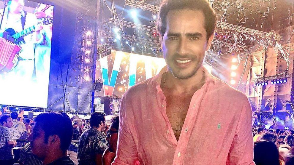 Pedro Palacio en el Carnaval de Barranquilla 2020.