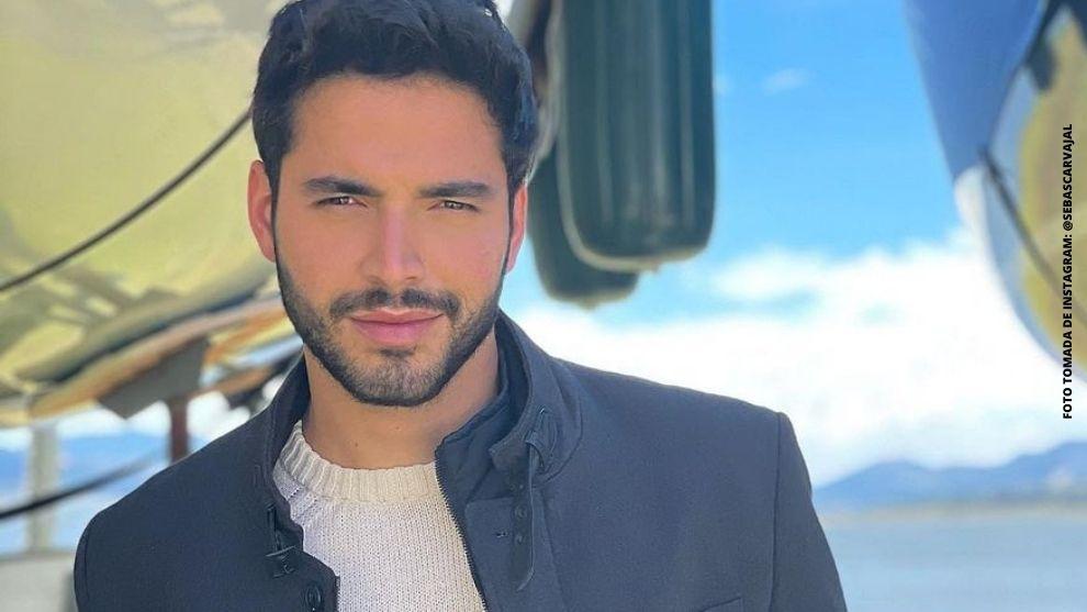 La sensual fotografía de Sebastián Carvajal entrenando que robó suspiros. (Tomada de Instagram)