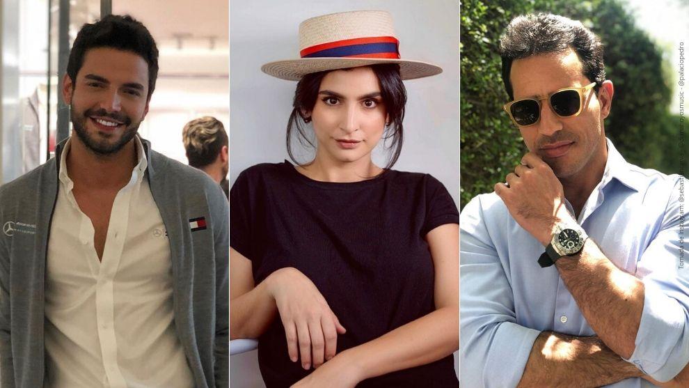 Sebastián Carvajal, Diana Hoyos y Pedro Palacio.