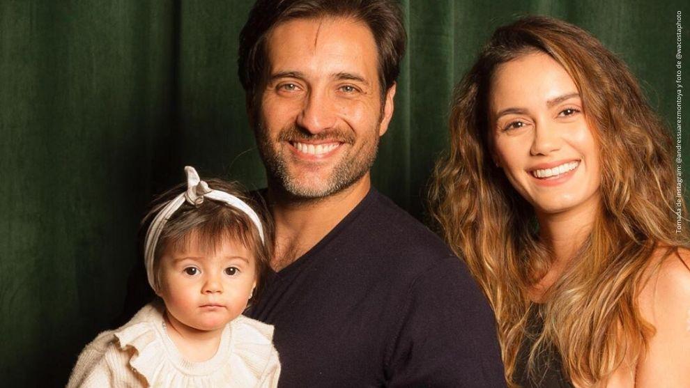 Andrés Suárez, María Claudia Cueter y Emma Suárez.