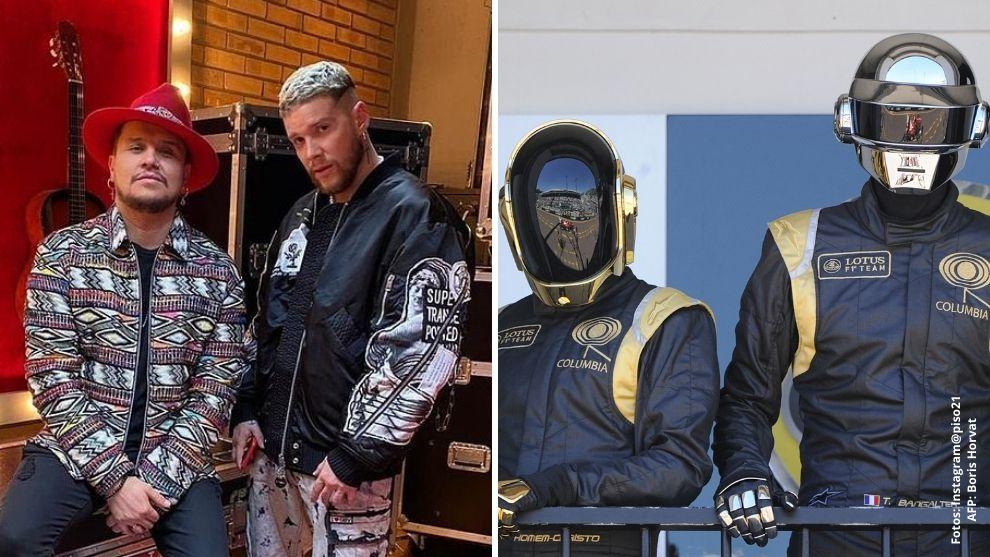 Con sentido mensaje, Piso 21 agradece y se despide de Daft Punk