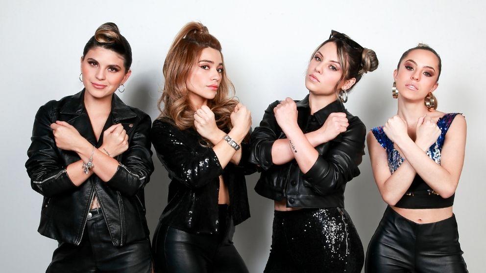 Grupo Eva (Juliana Luengas, Natalia Aguilar, Laura Grisales, Karol Urrego 23 años – 27 años -27 años – 30 años Bogotá)