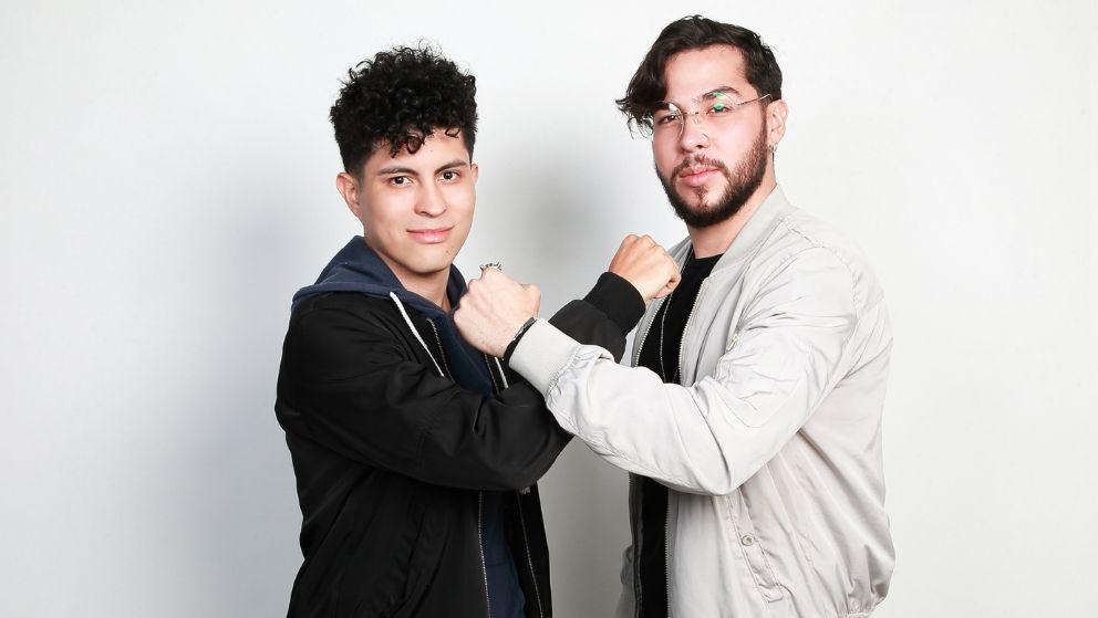 Simón y Julián (Simón Encizo y Julián Ortiz 22 años – 25 años Medellín)