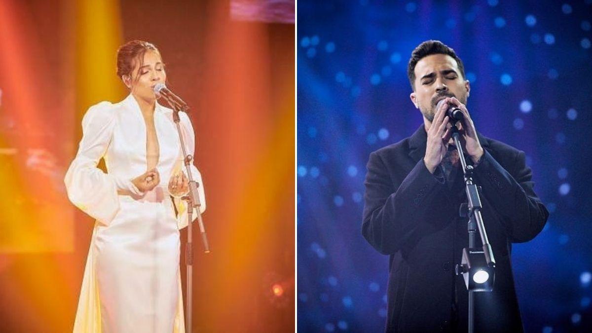 ¡Como ángeles!: Jeimy y Tavo Botero cantan éxito mundial en el backstage