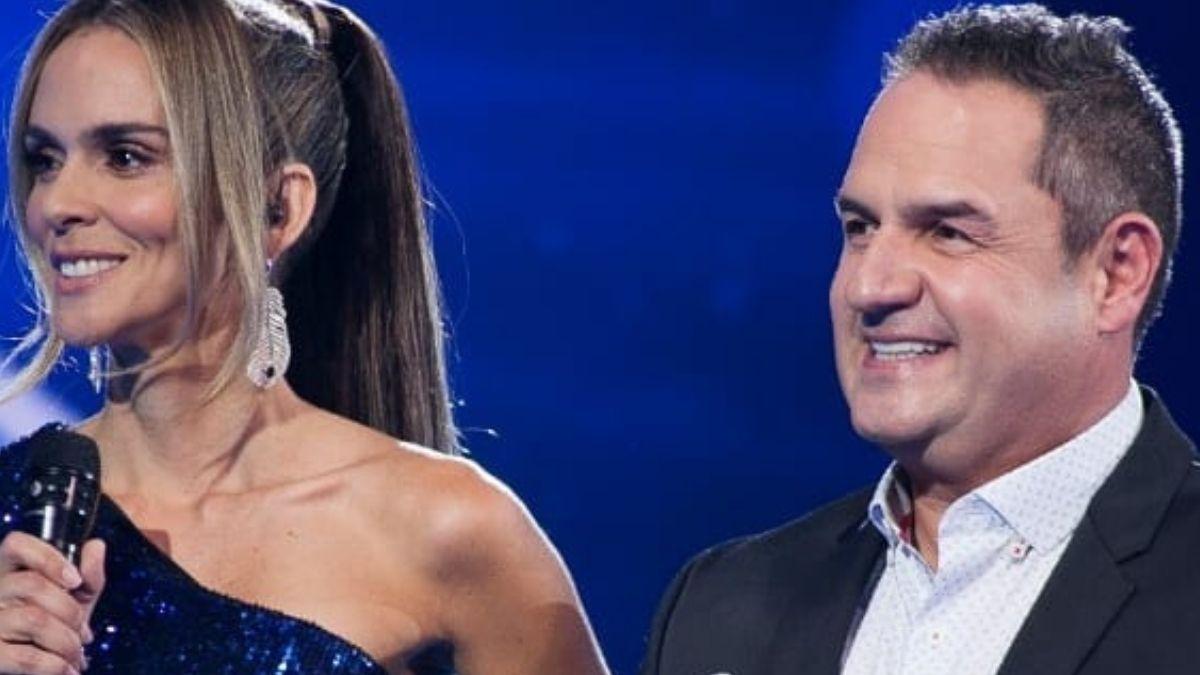 Así se veía antes físicamente el presentador del Factor X Mauricio Vélez