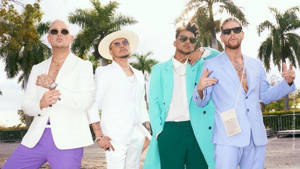 Piso 21 y Maluma cierran por lo alto los Latin American Music Awards