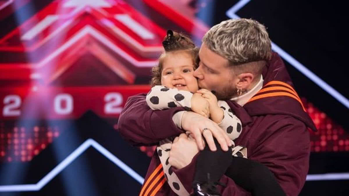 El tierno video de Piso 21 con su pequeña acompañante en el Factor X