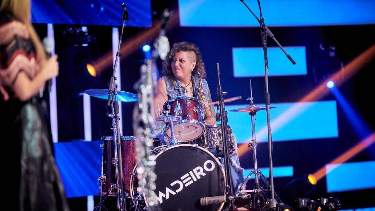 ¡Que viva el rock!, el participante que puso a Rosana a tocar batería