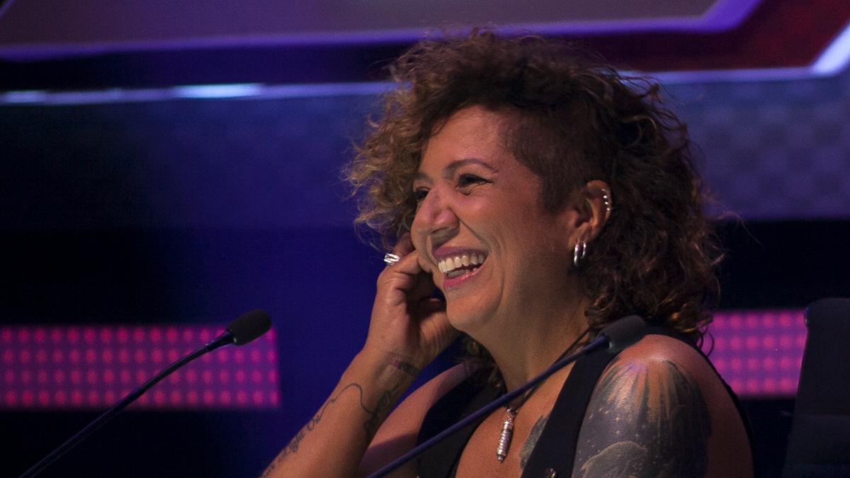 Rosana jurado del Factor X