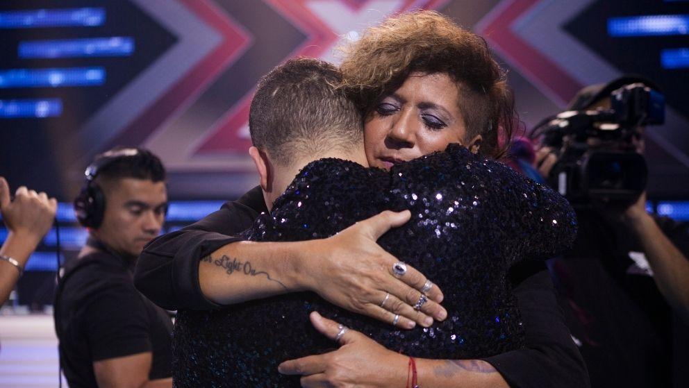 Rosana se funde en un abrazo con Zaír