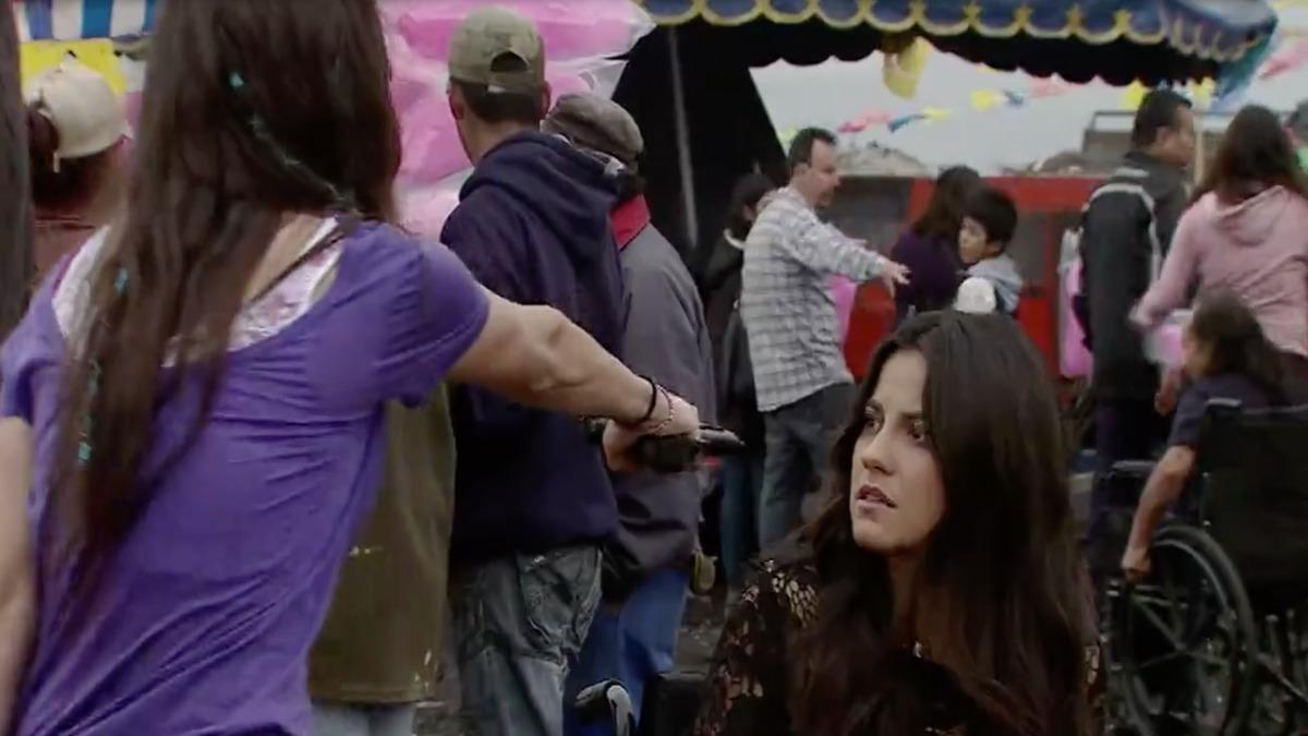 Inés intenta secuestrar a Esmeralda