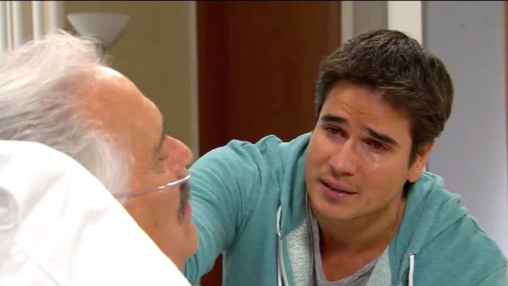 Agustín sufre un derrame cerebral