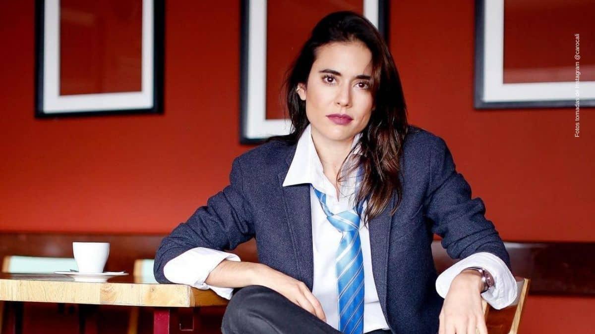 Mira la original foto que hizo Carolina Ramirez en cuarentena