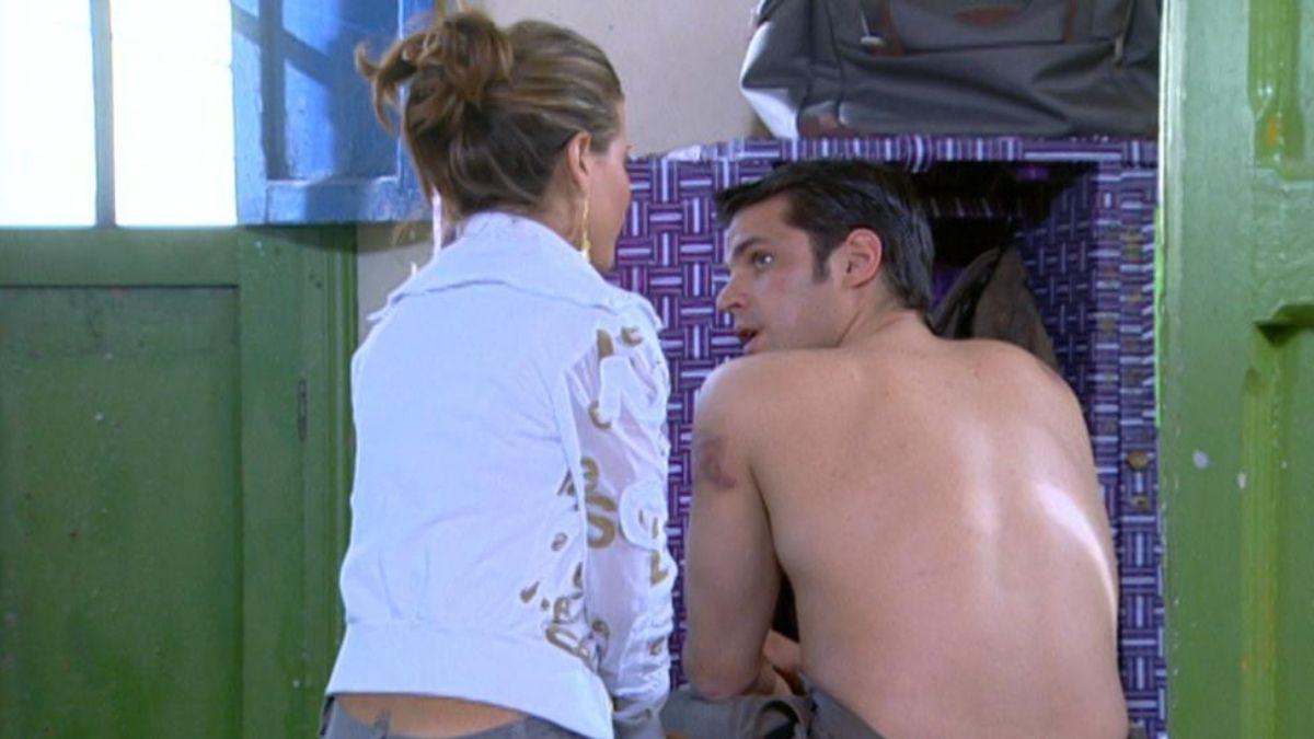 Rosario va a visitar a Francisco y se encuentra una sorpresa