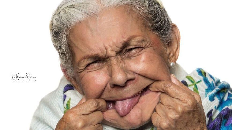 Doña Anciana nos contó cómo llegó a la televisión