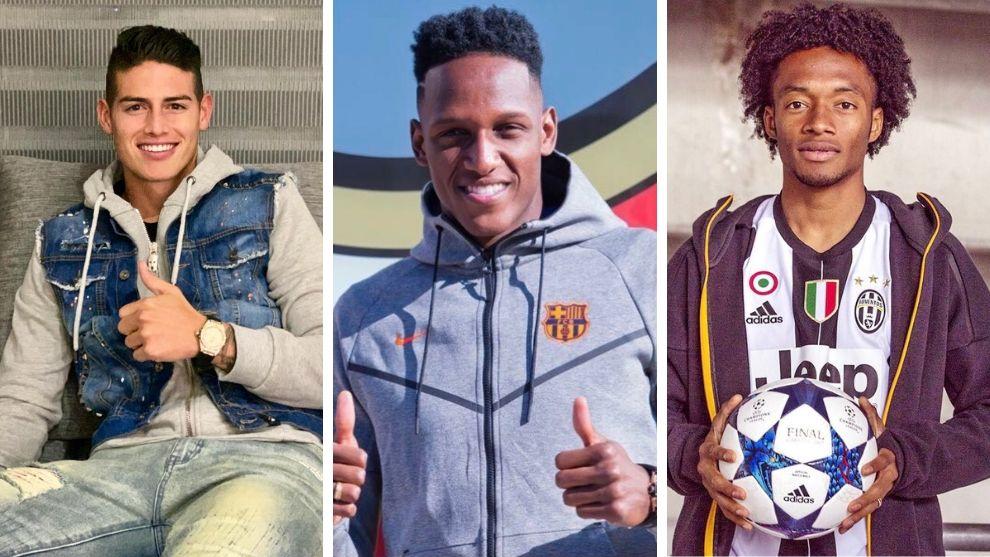 Top 5 de los jugadores de la Selección Colombia que mejor bailan