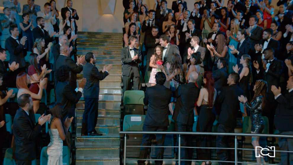 La película es un éxito en Cannes
