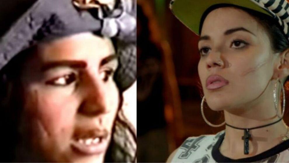 Mireya era Monica Rodriguez en la vendedora de rosas