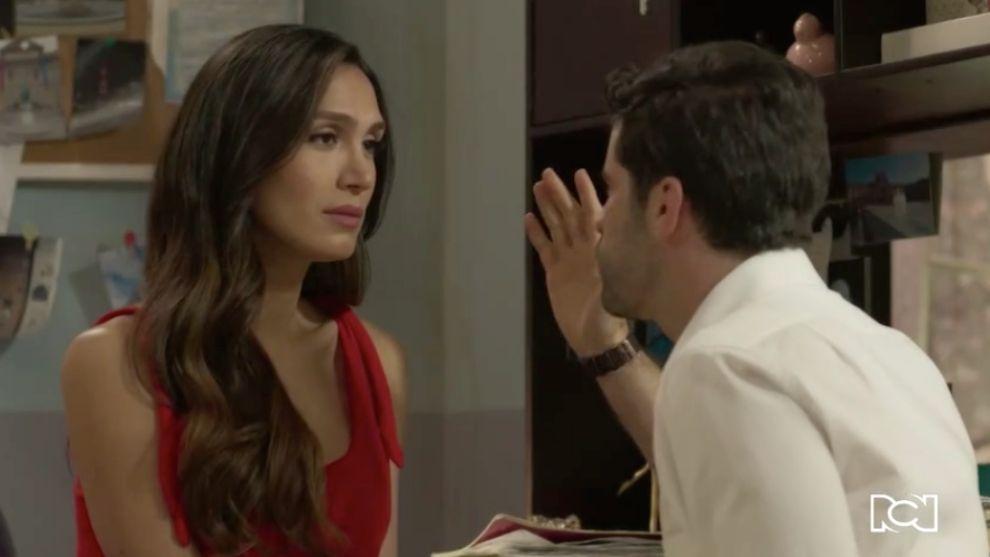 Lala habla con Francisco sobre sus intenciones