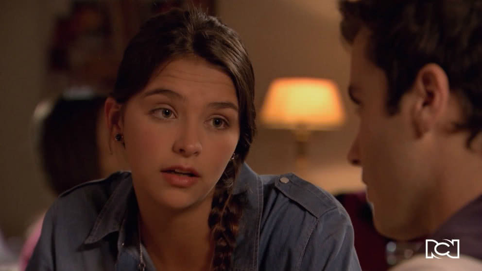 Andrea le confiesa su plan a Samuel