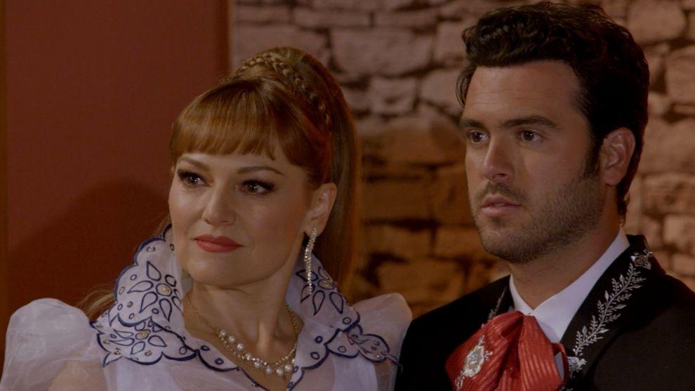 Elsa y Rodrigo, en la fiesta de 'El Recuerdo'