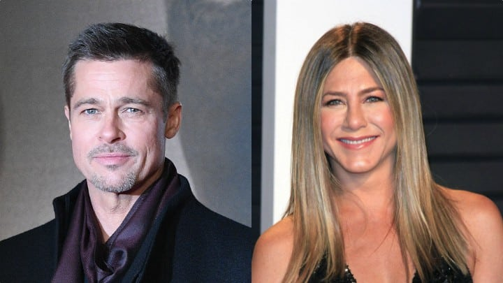 Brad Pitt y Jennifer Aniston podrían encontrarse en Londres