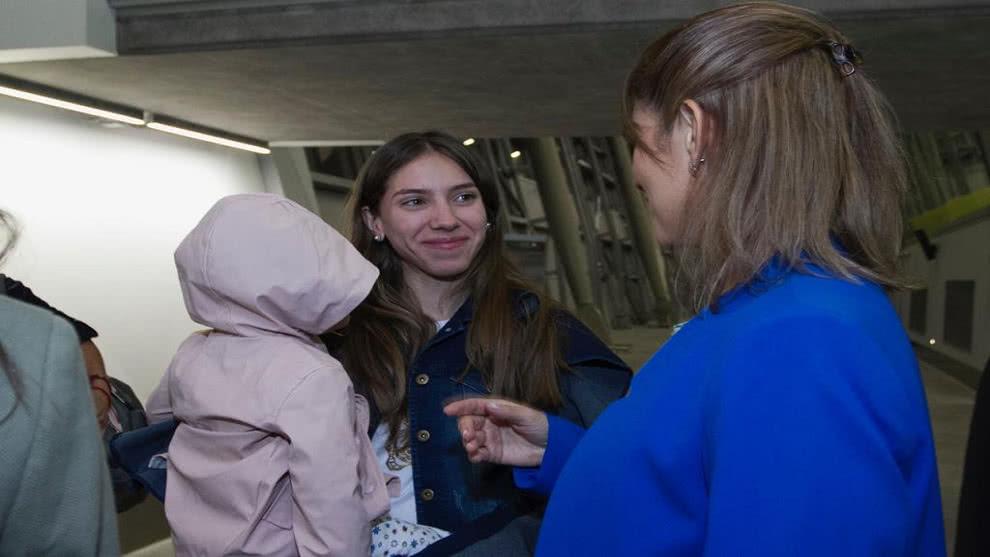 Fabiana Rosales llegó a Chile donde se reuniría con Sebastián Piñera #19Mar