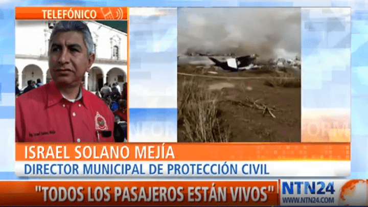 Director municipal de Protección Civil en Durango