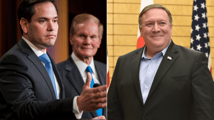 Mike Pompeo y Marco Rubio