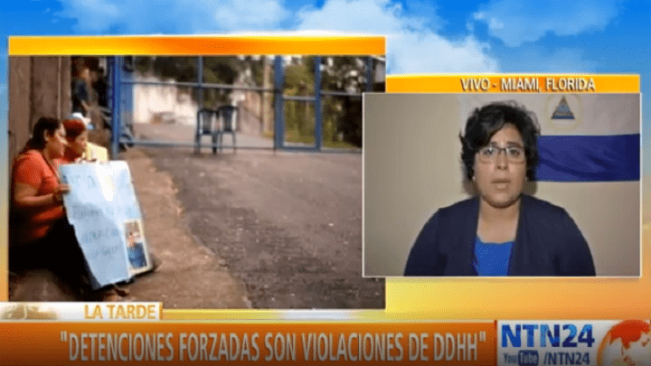 Edipcia Dubón on forced detentions in Nicaragua – TECH2