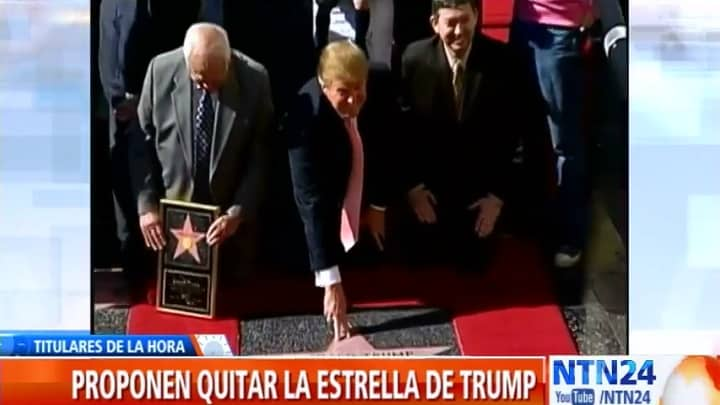 Estrella de Trump en Hollywood