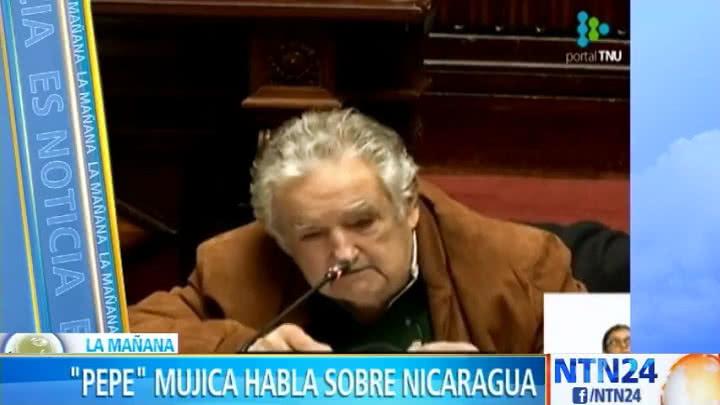 """""""Algo que fue un sueño se desvía y cae en autocracia"""": 'Pepe' Mujica sobre Nicaragua"""