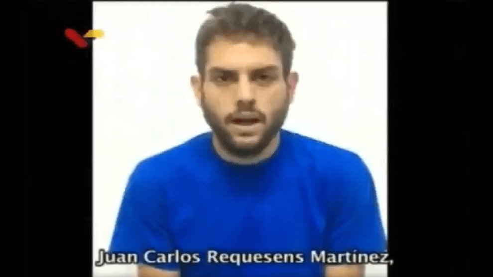 Juan Requesens/ Foto: Captura del video