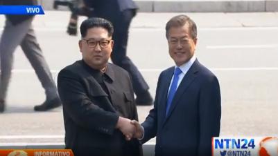 EN VIVO   Histórica cumbre entre líderes de Corea del Sur y del Norte