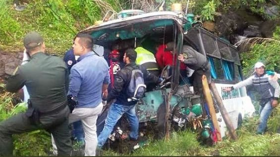 Foto: Accidente Anqtioquia