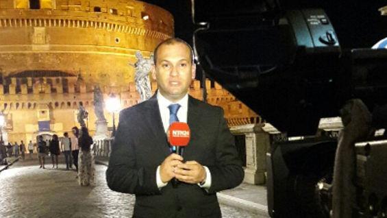 Andrés Gil, periodista de Noticias RCN