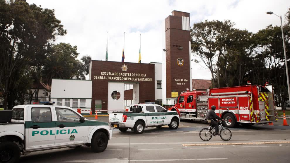 Piden 60 años de cárcel para presunto involucrado en atentado contra escuela General Santander