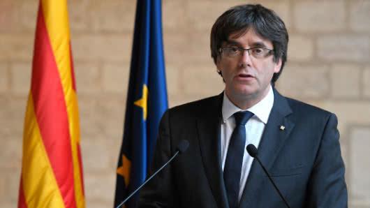 Foto: AFP / Expresidente Catalán Carles Puigdemont