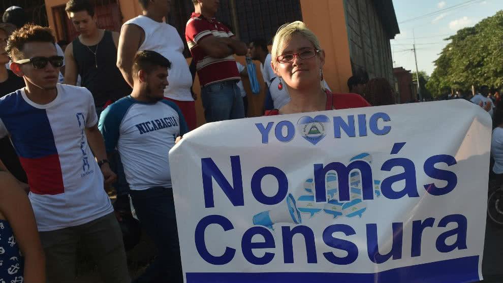 Libertad de expresión Nicaragua