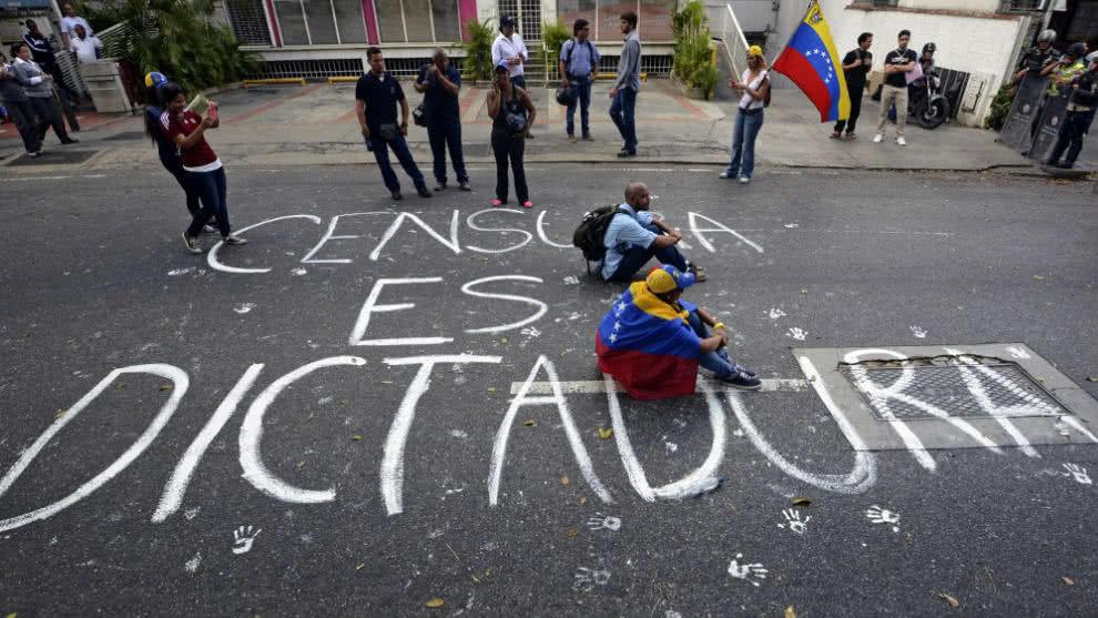 Libertad de expresión Venezuela