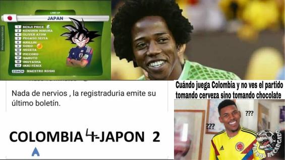 FOTO: Memes tras la derrota de Colombia en el Mundial.NoticiasRCN.com